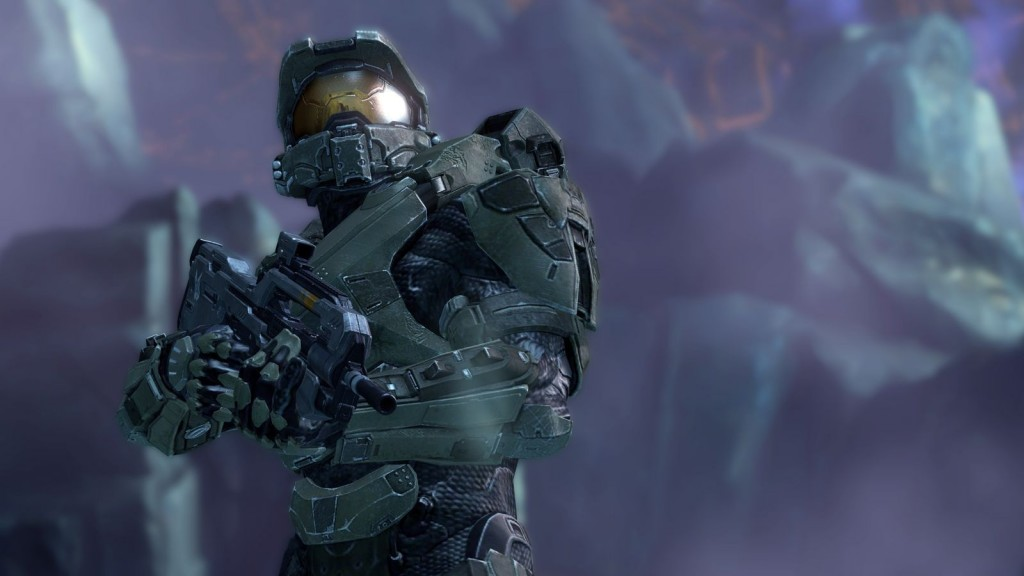 Halo 4's graphics have been greatly improved from what was seen in Halo Reach.