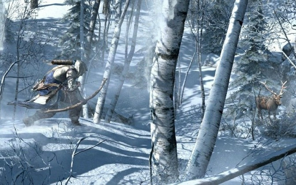 Hunting is a new mechanic in Assassin's Creed III.