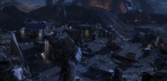 Fight enemy invaders in Firebase Hydra.
