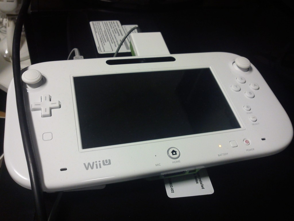 Could this be the final revision of the Wii U controller?