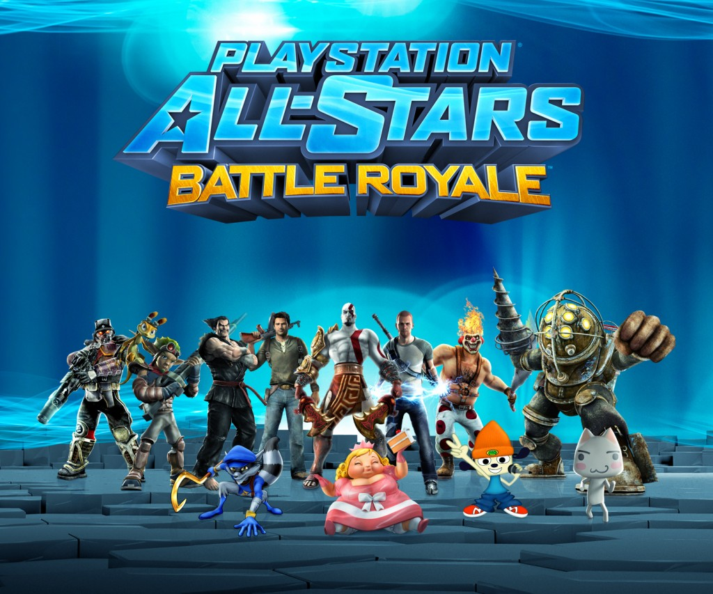 PlayStation All-Stars: Battle Royale features a wide variety of PlayStation characters.