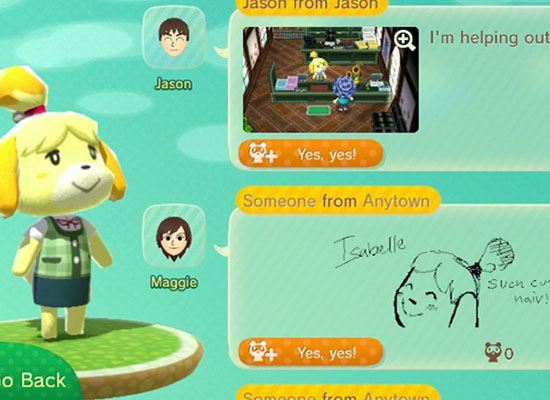 Animal Crossing Plaza is probably one of my favorite features of the console. I love this type of unique (and free) content that gets me involved with other gamers and my favorite games.