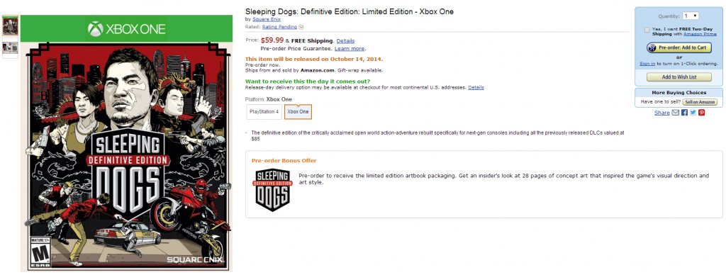 SleepingDogsAmazonListing
